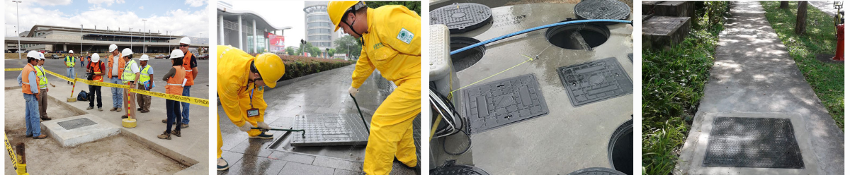 Square Manhole Cover Project Pictures