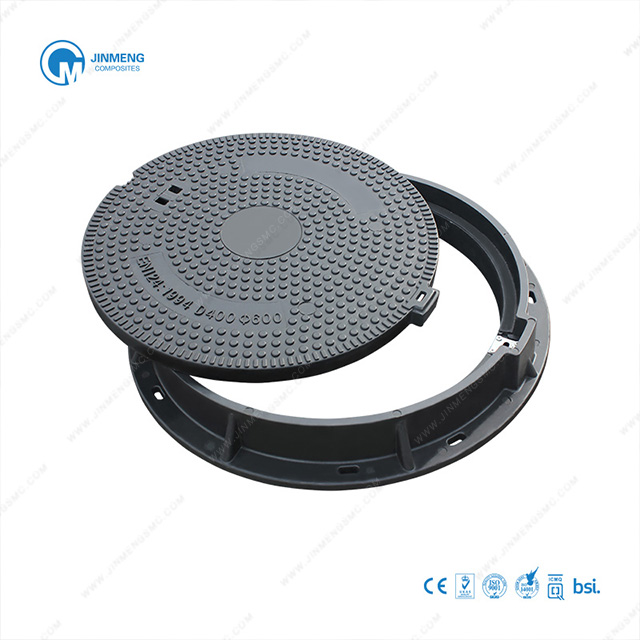 "600mm(24"") Customizable Composite Round Manhole Cover"